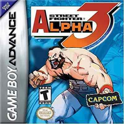 Street Fighter Alpha 3 Game Boy Advance (solo Cartucho)