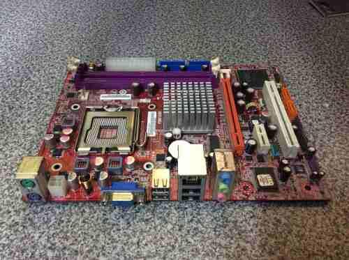 Tarjeta Madre Pc Chips Modelo P47g Socket 775 Ddr2