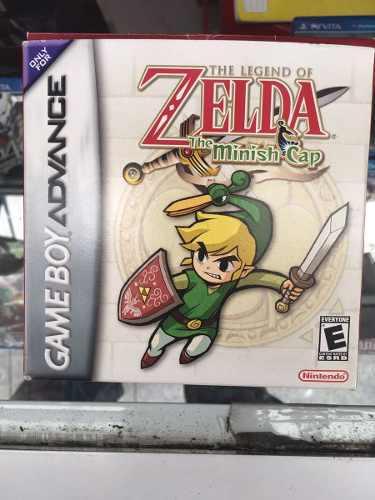 The Legend Of Zelda Minish Cap Gameboy Advance Con Caja