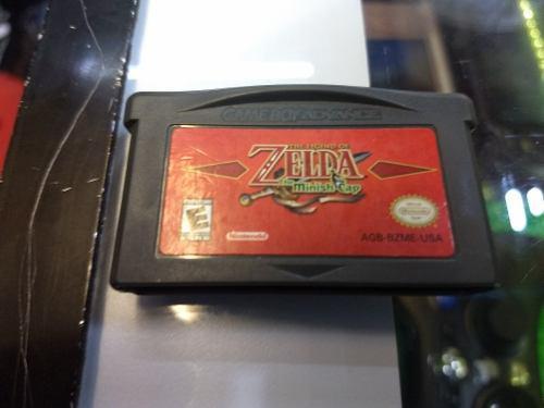 The Legend Of Zelda The Minish Cap Gba