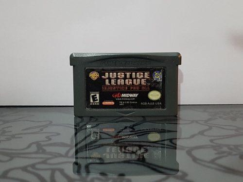 Video Juego Justice League Injustice For All Game Boy Advanc