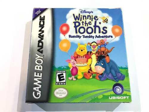 Winnie The Pooh Nintendo Game Boy Advance Retromex Tcvg