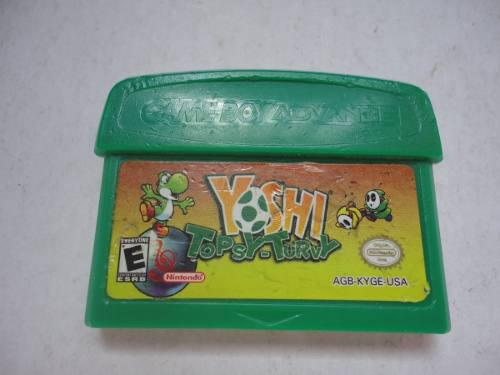 Yoshi Topsy Turvy Original Gameboy Advance Gba Nintendo Ds