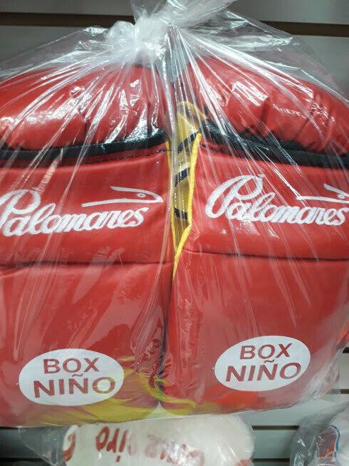 guante de box palomares Niño vinil juego de 4