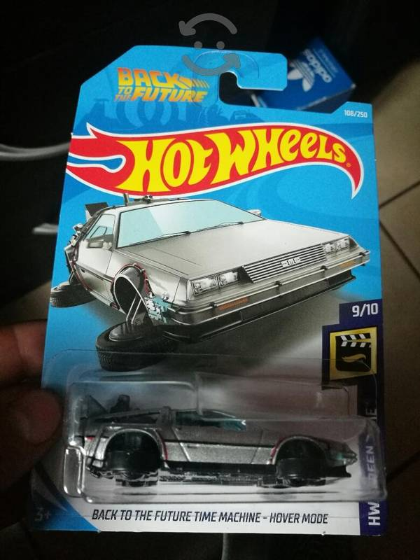 hot wheels back to the future time machi