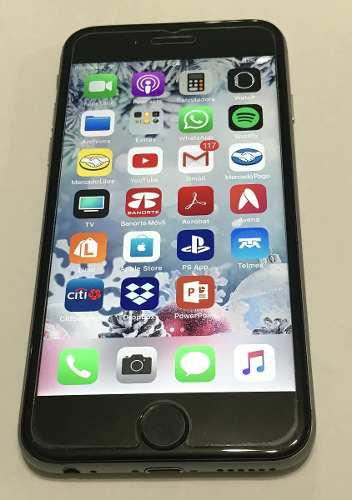 iPhone 6 16gb Gris Espacial Con Detalle