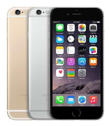 iPhone 6 De 64 Gb Nuevo Acces Orig A Meses Envio Y Garantía