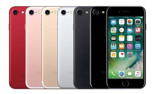 iPhone 7 128gb Libre Telcel Att Ngro Plata Oro Rosa Rojo Msi
