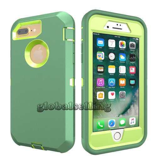 iPhone 8 Plus - Light Green - Para Apple iPhone 8 6 7 P-0454