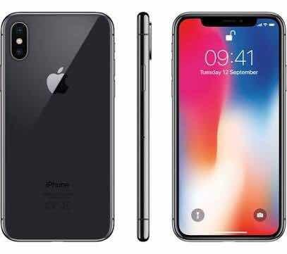 iPhone X 256gb Nuevo Negro