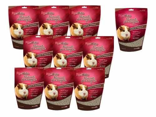 Alimento Para Cuyo Redkite De 850gr Caja Con 10 Pz