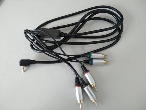 Cable De Componentes Tv Para Psp 2000 3000 Nuevo