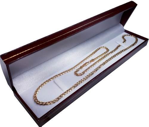 Cadena Barbada De Oro Macizo 10k 60cm. Pesa 25grs Solid Gold