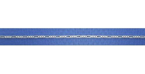 Cadena Figaro 35 3x1 Plata Ley925 D´villalpando Fg03531