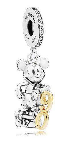Charm Pandora Dije Colgante Disney, 90 Aniversario De Mickey