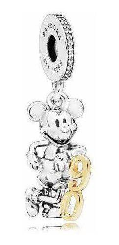 Charm Pandora Disney Mickey Mouse 90 Aniversario