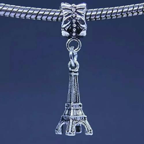 Charm Torre Eiffel Dije Compatible Pulsera Pandora, Envío