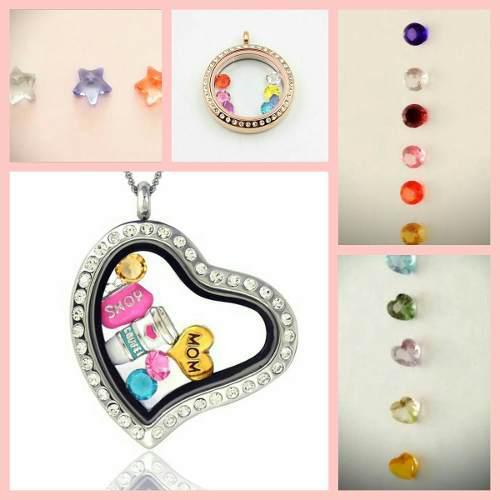 Charms/dijes Zirconias/cristales Locket/relicario