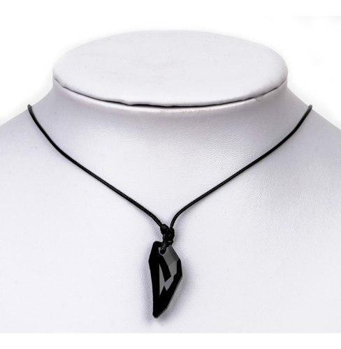 Collar Colgante Colmillo De Lobo Amuleto Cristal Unisex