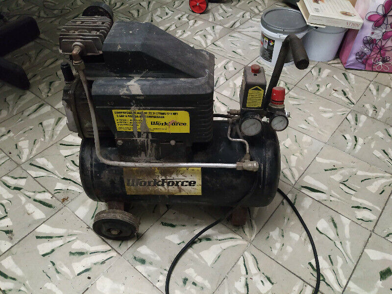 Compresor de Aire Workforce  litros 2.5 HP