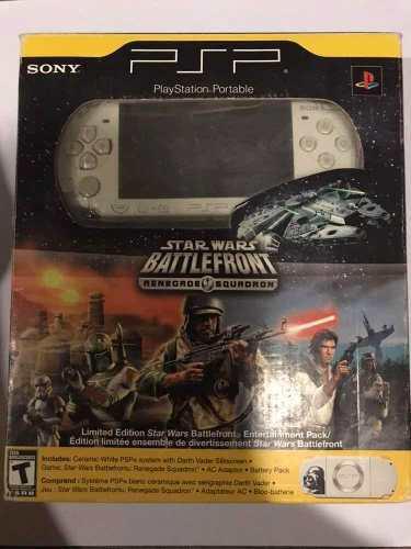 Consola Sony Psp Edición Star Wars Darth Vader!!! En Caja