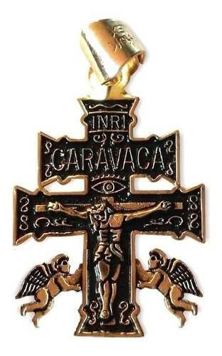 Cruz De Caravaca Talisman Protección Salud Riqueza Amor