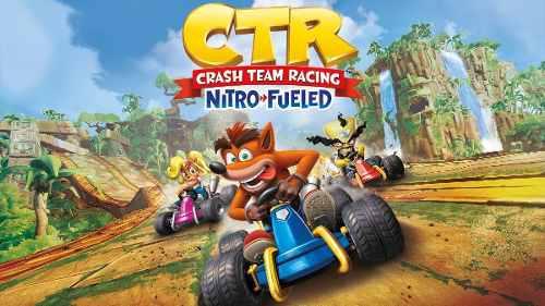 Ctr Crash Team Racing Nitro Fueled, Código Para Xbox One