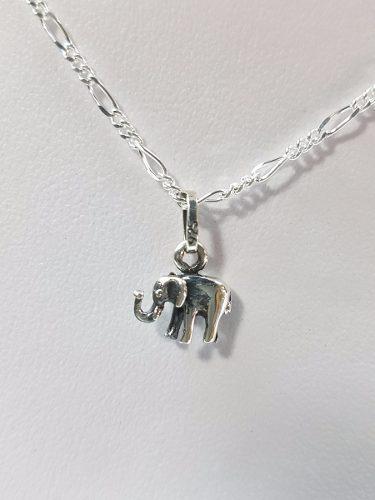 Dije De Elefante De La Suerte Plata Ley.925 Joyeria