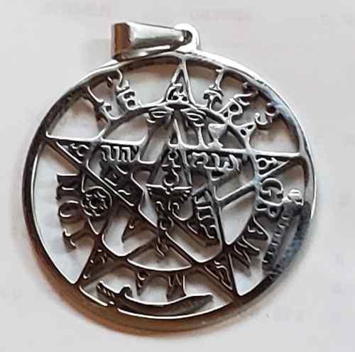 Dije De Tetragramaton D Acero+cadena+envio