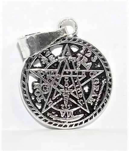 Dije De Tetragramaton Plata Ley 9.25 Fina 1.7 Cm