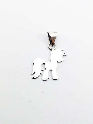 Dije My Little Pony Fabricado En Plata Fina.925