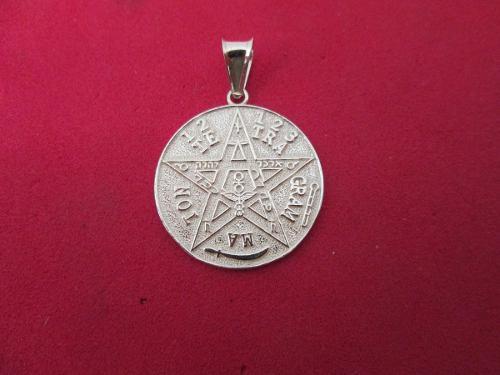 Dije Tetragramaton Plata Fina.925