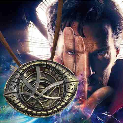 Doctor Strange Collar Ojo De Agamot Marvel Dr + Envio Gratis