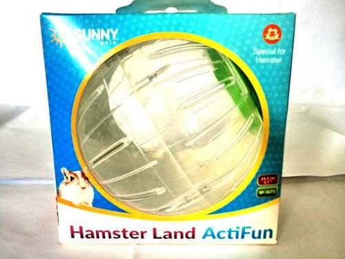 Esfera Ejercitadora Para Hamster Sunny 14.5 Cms De Diámetro