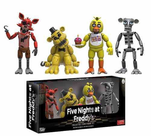 Figuras De Five Nights At Freddy's En Pack Funko Originales