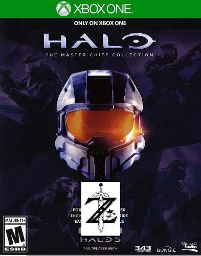 Halo The Master Chief Collection Xbox One 2x1