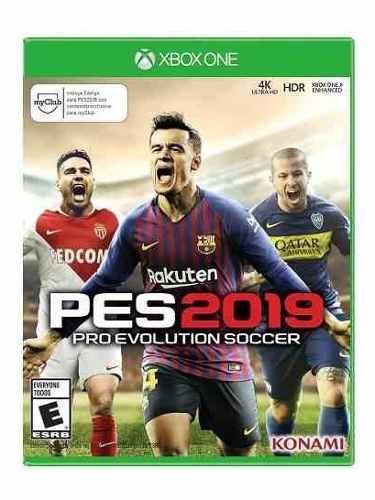 Juego Pes 2019 Xbox One Nuevo Original
