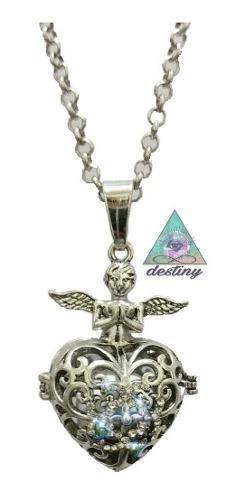 Lindo Llamador De Angeles Con Un Angel Protector