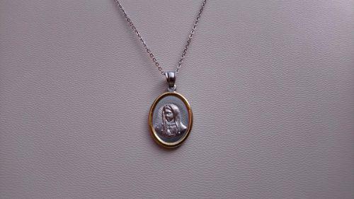 Medalla Virgen De Guadalupe De Acero Inoxidable Virgencita