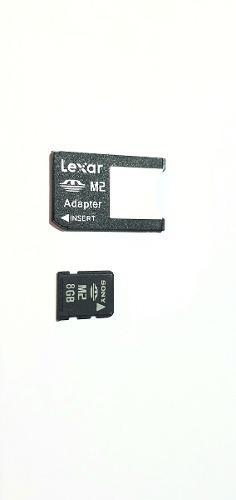 Memoria M2 8 Gb Con Adaptador Llena De Juegos Para Psp Go
