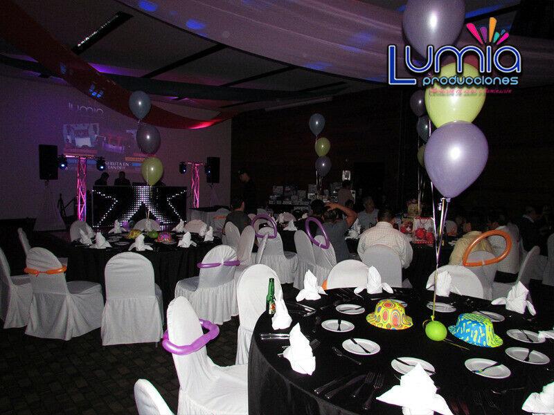 Neon party DJ luz y sonido