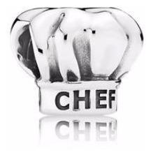 Pandora Charm Gorro De Chef (amo Cocinar)