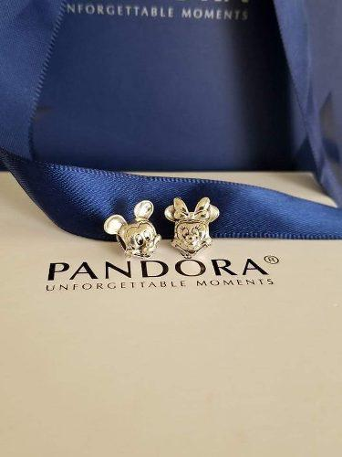 Pandora Mickey Mouse & Minnie Mouse Charms