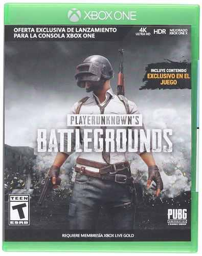 Playerunknown's Battlegrounds Pubg Xbox One (en D3 Gamers)