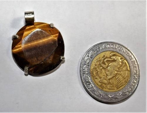 Protección Con Medalla De Plata Tetragramaton Y Ojo De