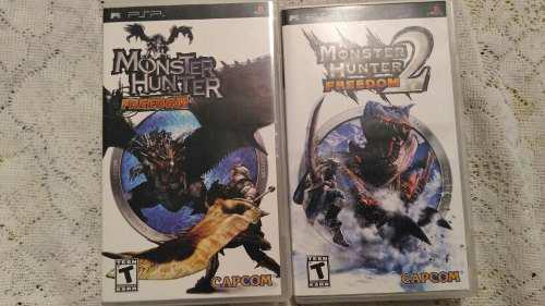 Psp Monster Hunter 1 Y 2