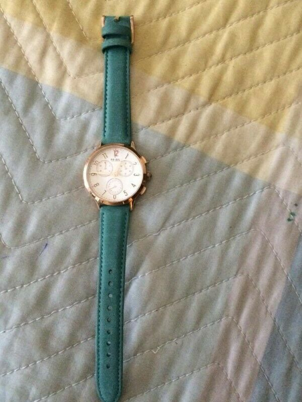 "Reloj Turquesa ""Fossil"""