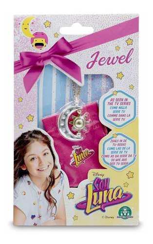 Soy Luna Medalla Collar Joya Dije Jewel Original Ambar