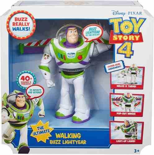 Toy Story 4 Buzz Lightyear En Acción Camina Frases Y
