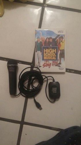 ¡wow! Microfono High School Musical Envio Gratis